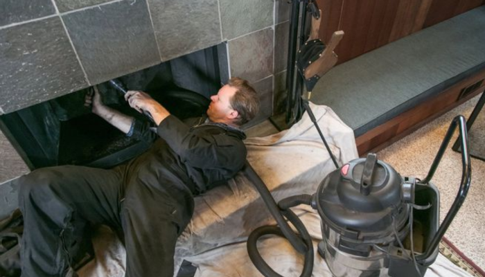 prepare home for winter clean fireplace and chimney