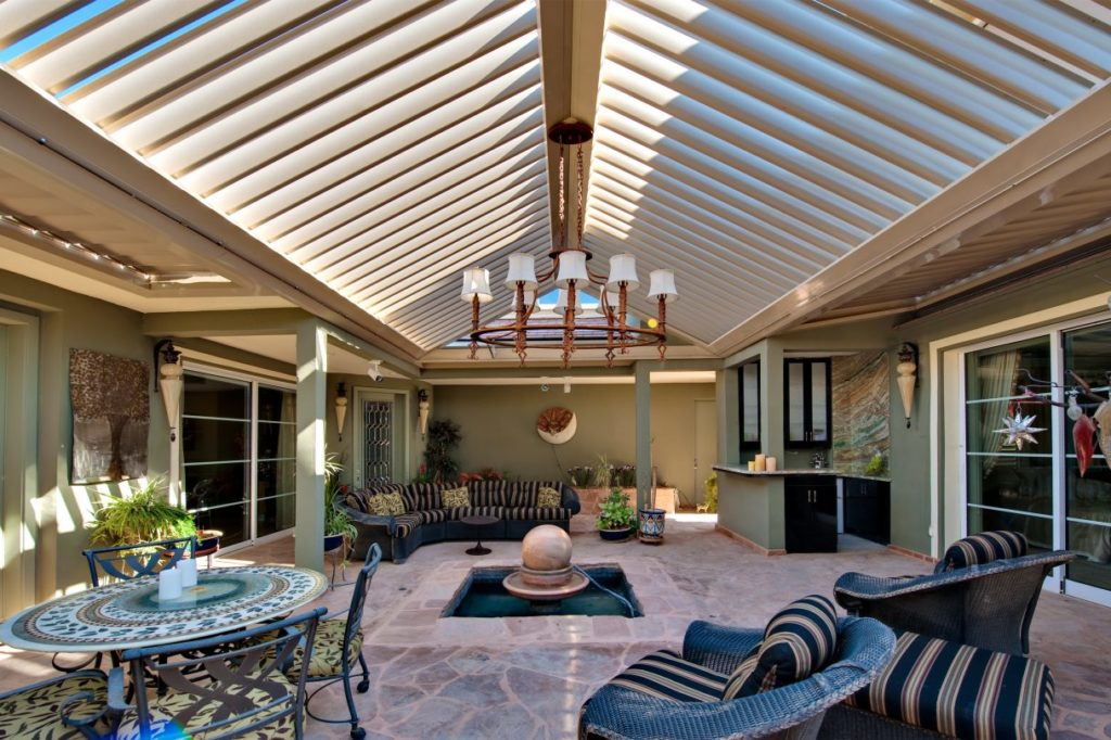 louvered patio roof cover system billings mt r and t services